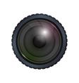 camera focus gadget technology icon vector image