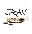 Sushi Japanese Culture Symbol vector image