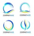 Water Splash Logo design vector image