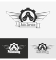 Auto logo design template vector image