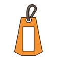 tag commercial hanging isolated icon vector image