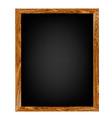 Restaurant Menu Wood Board vector image vector image