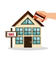 house real estate sell credit card business design vector image