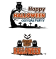 Halloween party themes vector image vector image