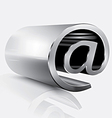 3d email sing2 vector image