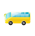 beautiful bus vector image
