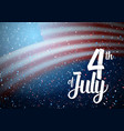 independence day poster template vector image