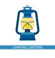 lantern icon vector image