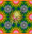 miles fleur ditsy ornament cute floral pattern vector image