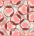 colorful inked splashes seamless texture fashion vector image