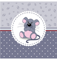 little mouse baby vector image vector image