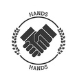 hand pictogram vector image