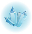 icicle element winter decor vector image