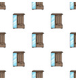 vestibule wardrobe icon in cartoon style isolated vector image