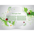 vector nature background vector image