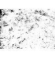Grunge texture white black vector image