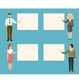 Business coaches vector image