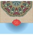 islamic vintage floral pattern vector image