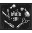 Set tool for BarberShop vector image