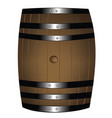 Barrel of wine vector image