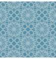 Blue seamless pattern reminiscent of frozen glass vector image