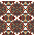 vintage floral paisley seamless pattern vector image vector image