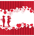 Romantic story vector image vector image