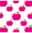 School apple teacher day celebration seamless vector image