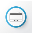 tablet icon symbol premium quality isolated vector image