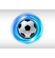 Football abstract circle vector image