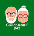 Grandparents day vector image