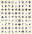 The big icon set vector image vector image