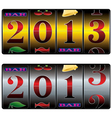 slot 2013 vector image