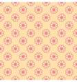 Feminine seamless pattern tiling Fond pink and vector image