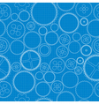 Gears blueprint vector image