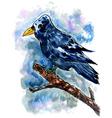 Crow Sketch02 vector image