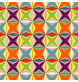 Geometric abstract many colored seamless pattern vector image