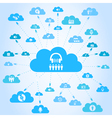 Music a cloud vector image vector image