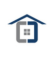home simple vector image