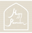 Ramadan card vector image