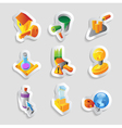Icons for industry vector image vector image