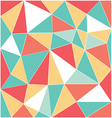 low polygon mixed with white line vector image