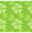 hibiscus pattern lime vector image