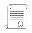 school elementary school kids diploma certificate vector image