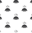 dish seamless pattern vector image