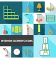 Interior Elements Flat vector image