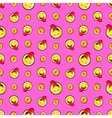 Money and Emoticons Seamless Pattern vector image
