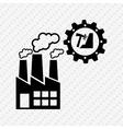industrial plant design vector image