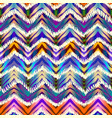 Ethnic chevron pattern vector image