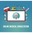 Medical Style Poster vector image